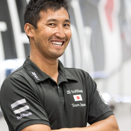 SoftBank Team Japan preparing in Bermuda for the 35th America's Cup